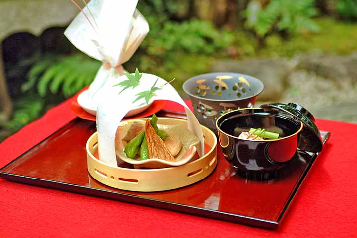A variety of Kyoto cuisine